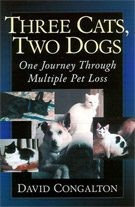 Three Cats, Two Dogs by David Congalton