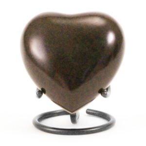MAUS Earth Heart Keepsake Cremation Urn