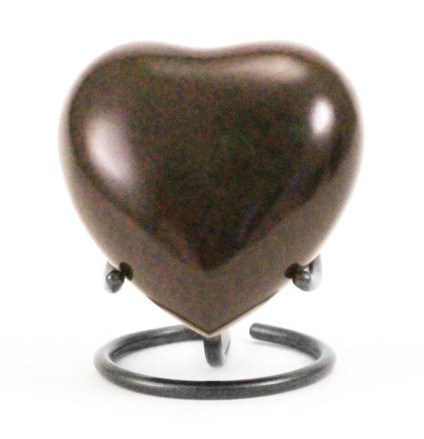 MAUS Earth Heart Keepsake Cremation Urn
