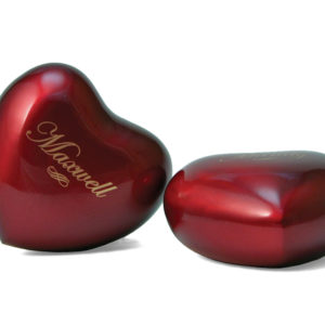 Arielle Heart Ruby Cremation Urn