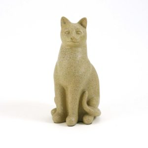 Fawn Cat Cremation Urn