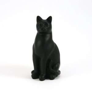 Black Cat Cremation Urn