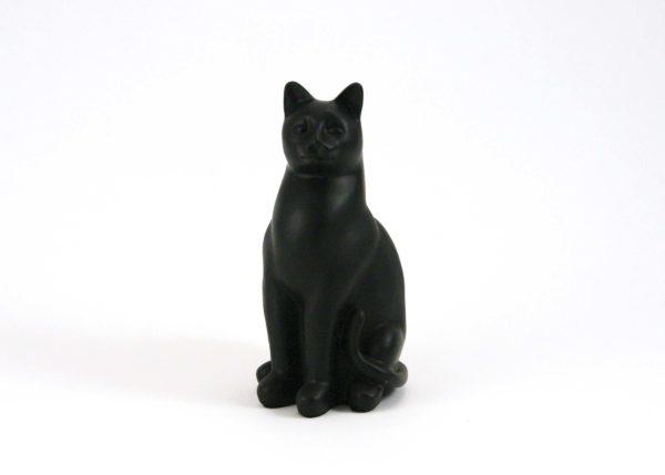 Black Cat Cremation Urn