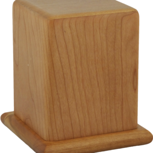 Plain Cherry Pet Cremation Urn