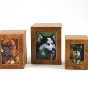 Birch Photo Box Cremation Urn