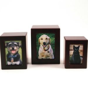 Cherry Photo Box Cremation Urn