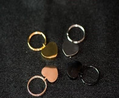 Heart-Shaped Keychain Urn