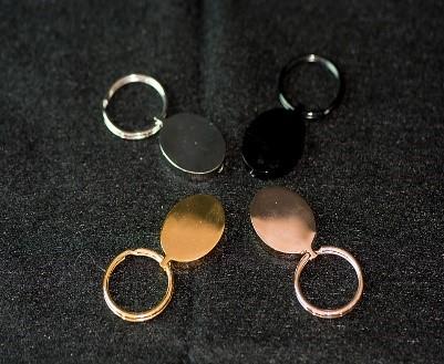 Oval-Shaped Keychain Urn