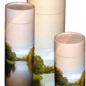Rainbow Pond Scattering Urn