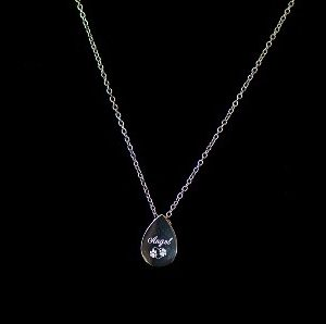 Tear Drop Pendant Urn