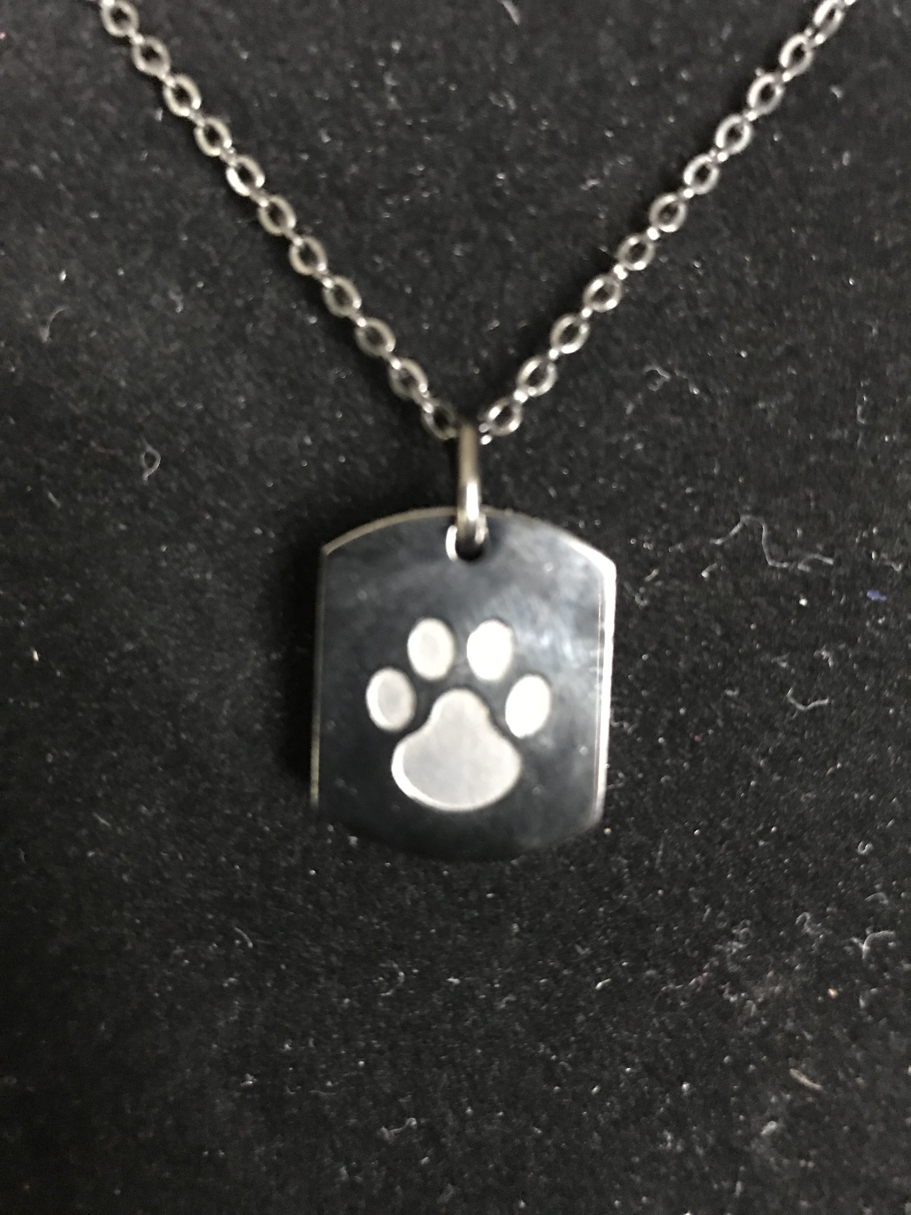 Urn for Dog Angel Puppy Cremation PENDANT or NECKLACE Holds Cremains Ashes Ash Locket Bone Pawprints In Memory of Beloved Pet Loss Memorial